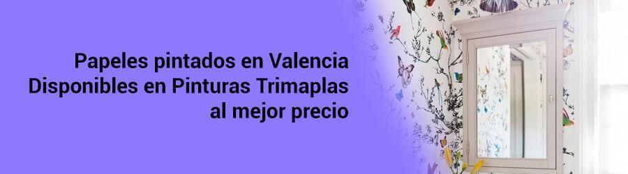 Papeles pintados Valencia baratos