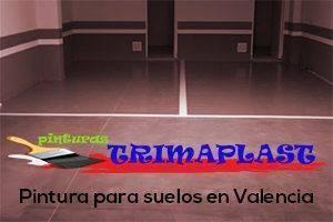 Pintura para suelos en Valencia