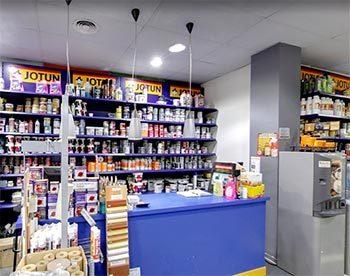 Tienda de pinturas en Valencia profesional