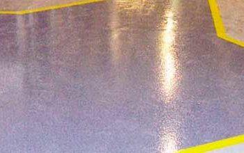 Pintura para suelos en Valencia, nave industrial