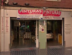 Tienda de pinturas en Valencia