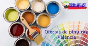 Ofertas en pinturas valencia