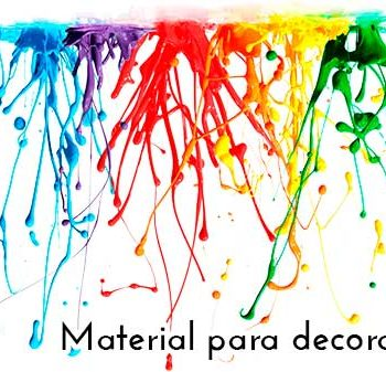 Material para decoración en Valencia