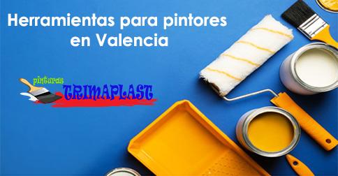 Herramientas para pintores en Valencia