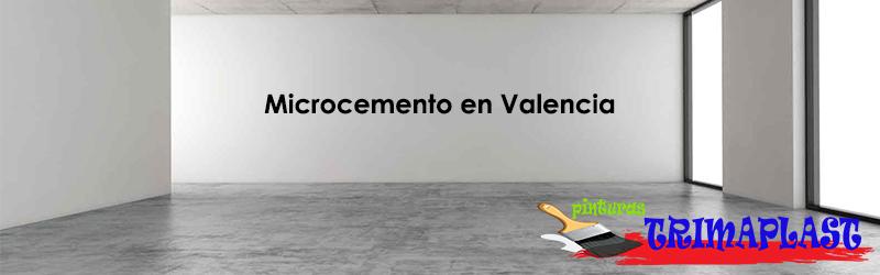 Microcemento Valencia